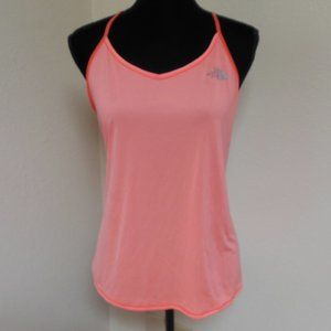The North Face Coral and White Tank